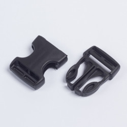 Фастекс 30мм пластик черный