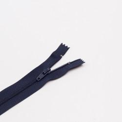 Молния спираль Т3 20см брючная т.синий
