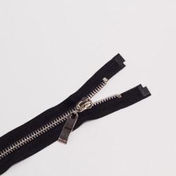 Молния металл Т8 70см черный/никель