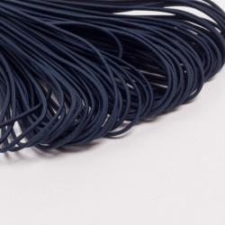 Резина шляпная 2мм т.синий