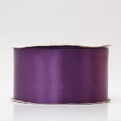 Лента атлас, 50мм фиолетовый