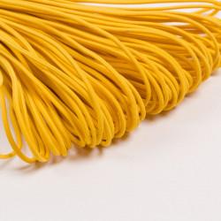 Резина шляпная 2мм желтый