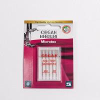 """Набор игл """"ORGAN"""" микротекс №60-70, 5шт/уп Ай"""