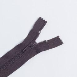 Молния спираль Т7 16см обувная т.коричневый