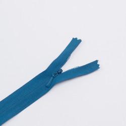 Молния потайная Т3 20см хлопок синяя бирюза