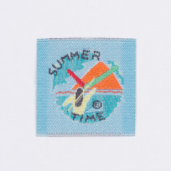 "Термоаппликация ""Summer Time"" 3,3х3,3см"