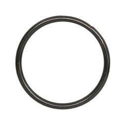 Кольцо металл разъемное 20х1,5мм черный никель