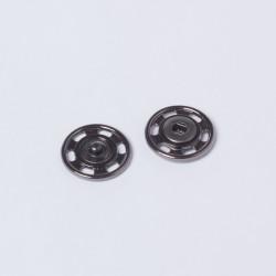 Кнопка пришивная металл 21мм черн.никель