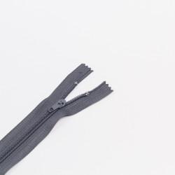 Молния спираль Т4 18см брючная т.серый
