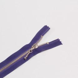 Молния металл Т5 16см фиолетовый никель