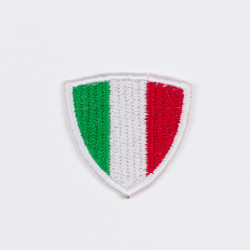 "Термоаппликация ""Флаг Италии"" треуг. 3,5х3,5см"