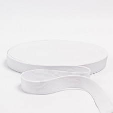Резина бельевая белая, 20мм