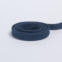 Шнур плоский плетеный 13мм синий