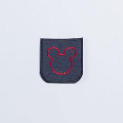 Термозаплатка джинсовая 8х7см мышка