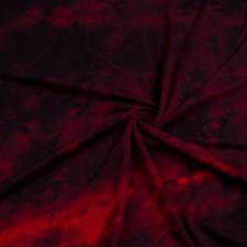 УЦЕНКА Футер 3х нитка петля принт тай дай бордо 2009000324275