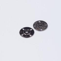 Кнопка пришивная металл 21мм никель