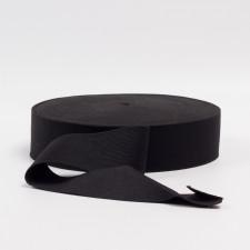 Резина бельевая черная, 40мм