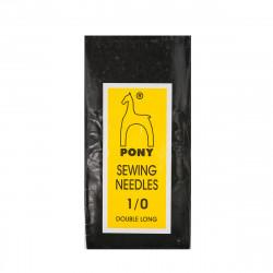 Игла ручная швейная цыганская Gold №1 Pony