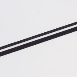 Резина декор. 14мм с прорезями черный
