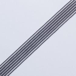 Резина декор. 20мм черный