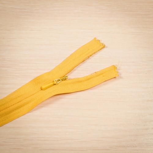 Молния потайная Т3 50 см Китай желтый