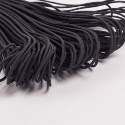 Резина шляпная 2мм черный