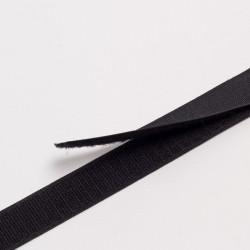 """Лента контактная """"Велкро"""", 25 мм черная Ай"""