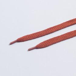 Шнурки обувные плоские 12мм 150мм пара морковь