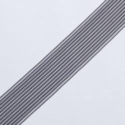 Резина декор. 40мм черный