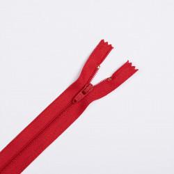 Молния спираль Т4 20см брючная красный