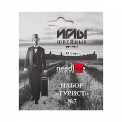 """Набор игл ручных ассорти №7 """"Турист"""" 15шт/уп"""