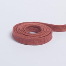 Шнур плоский плетеный 13мм медный