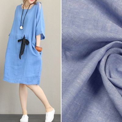 купить ткань лен для платья