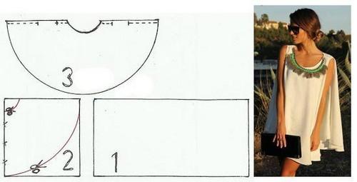 4bcd1394b99 Штрихпунктирной линией на рисунке обозначен боковой шов. Его можно не  делать