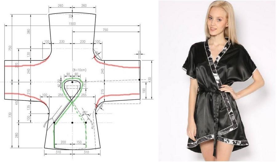 Как сшить платье халат своими руками быстро и без выкройки